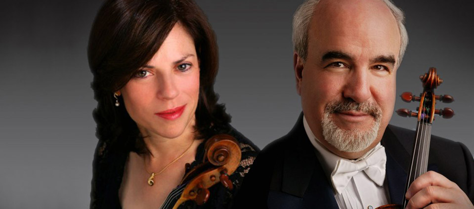 Karen Dreyfus, Viola, and Glenn Dicterow, Violin