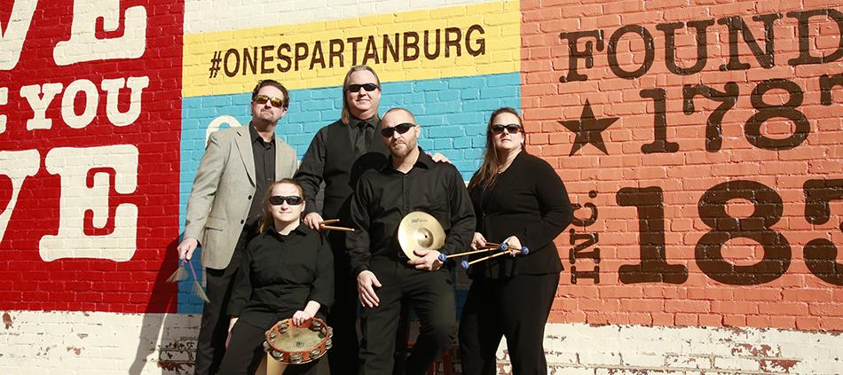 Tryon Concert Association Spartanburg Philharmonic Percussion Ensemble